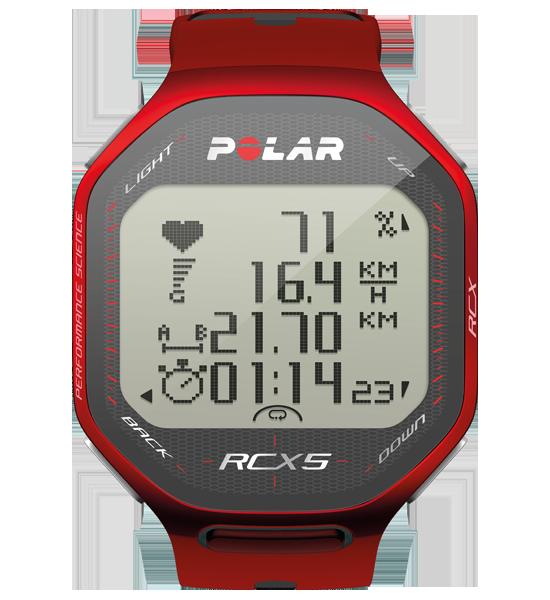 Polar RCX5 červený