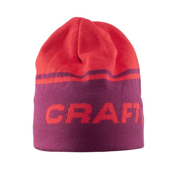 Craft Čiapky Logo červená L/XL