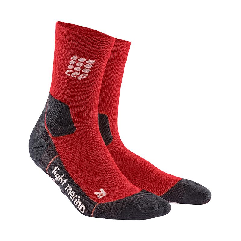 CEP Outdoorové ponožky ultralight merino pánske deep magma V