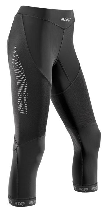 CEP 3/4 běžecké kalhoty 2.0 pánské černá II