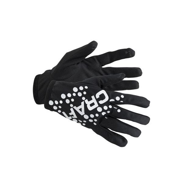 Craft Rukavice Printed Jersey černá XXL 463e527160