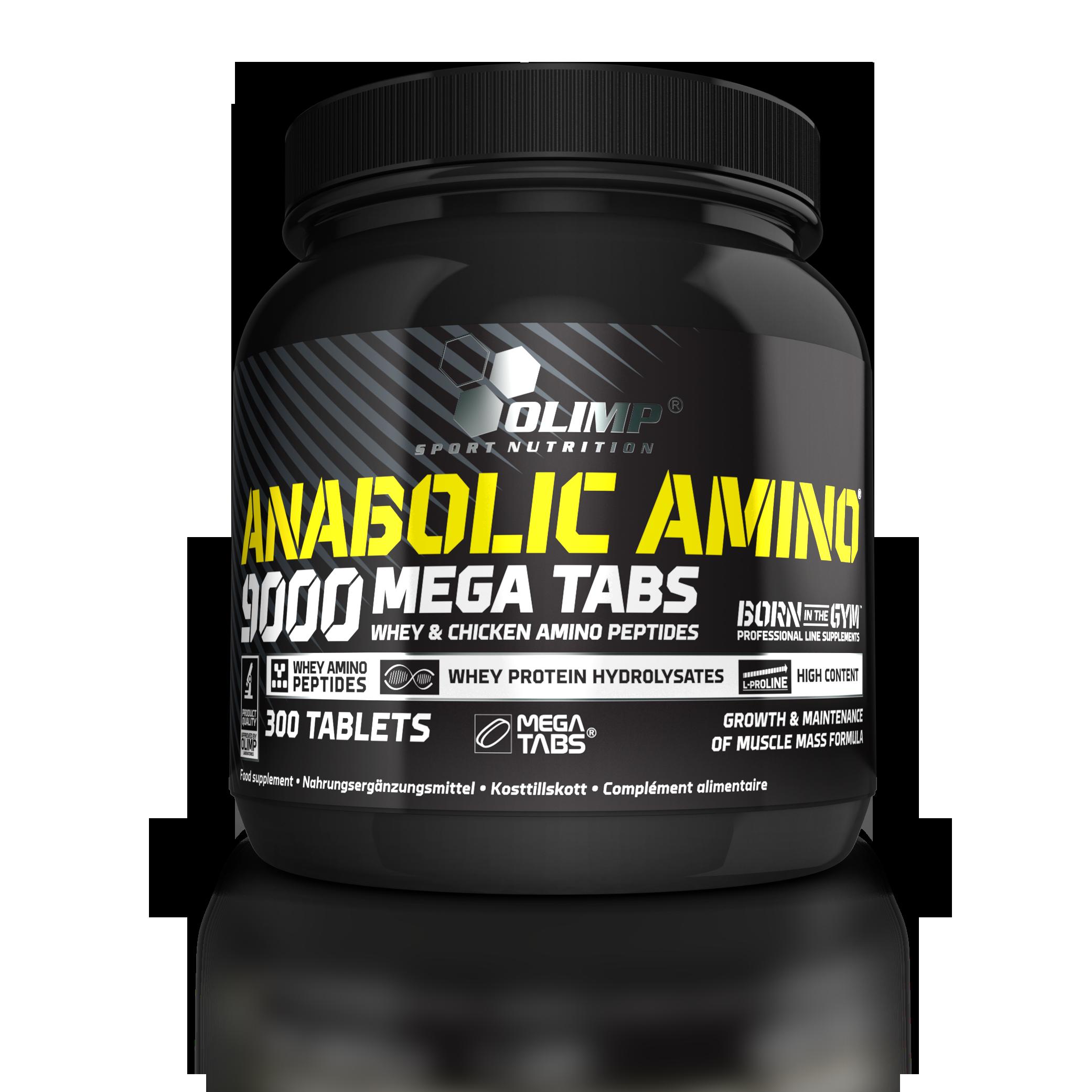 Olimp Anabolic Amino 9000, 300 kapslí