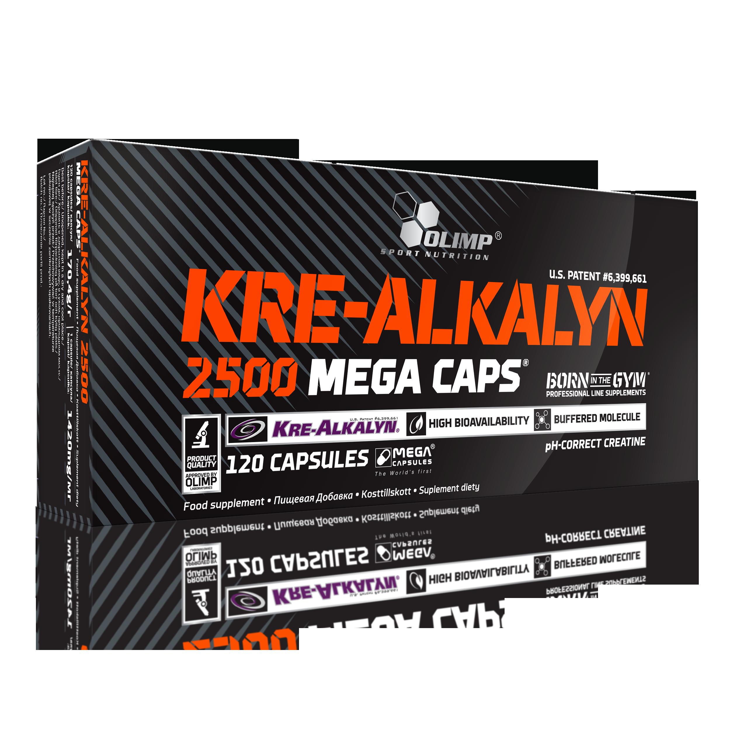 Olimp Kre-Alkalyn 2500, 120 kapslí