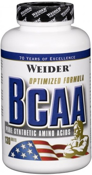 Weider All Free Form BCAA, 130 tablet