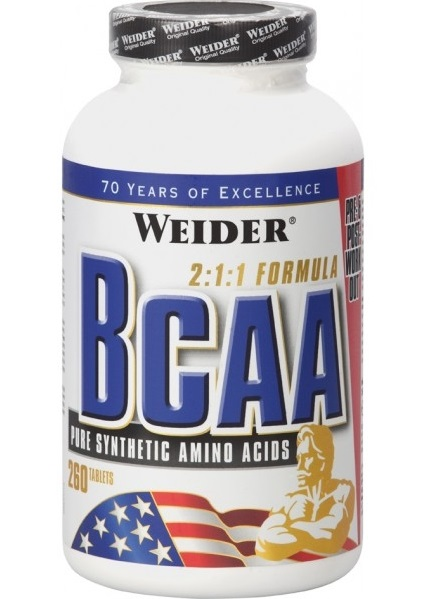 Weider All Free Form BCAA, 260 tablet