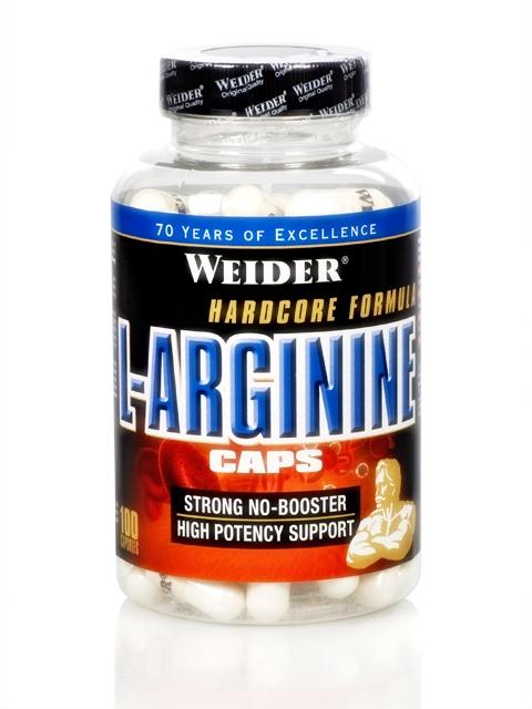 Weider L-Arginine Caps, 100 kapslí