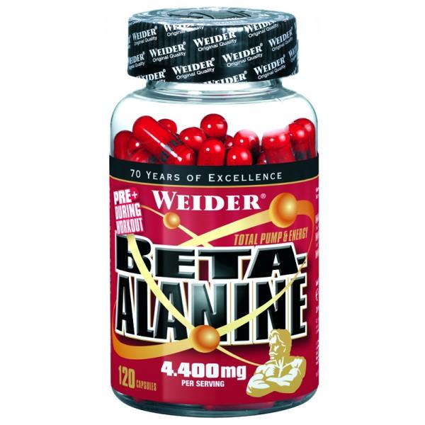 Weider Beta-Alanine, 120 kapslí