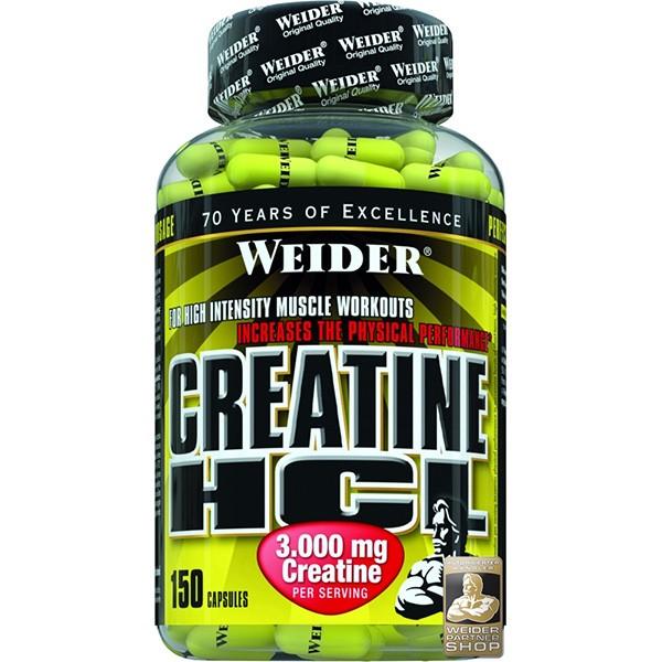 Weider Creatine HCL, 150 kapslí