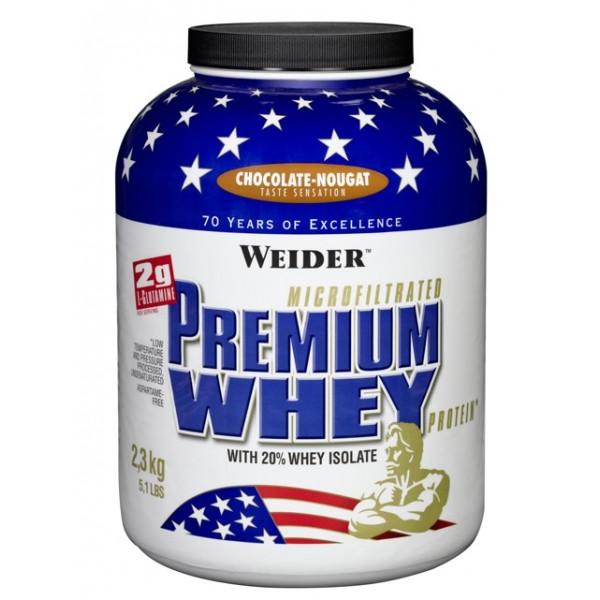 Weider Premium Whey, 2300g