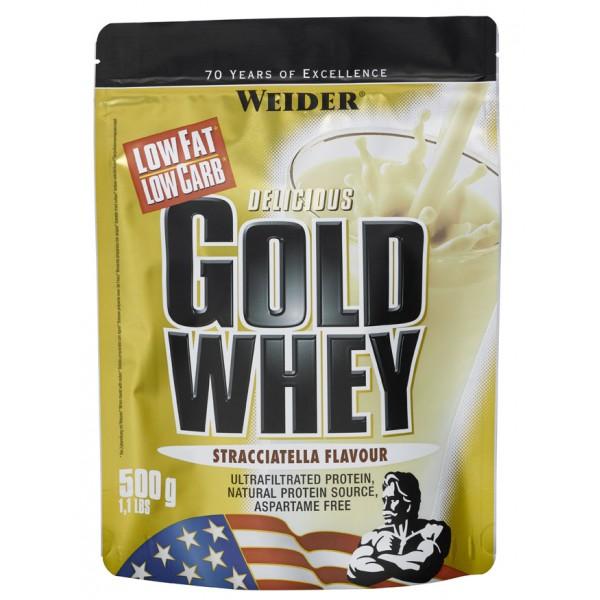 Weider Gold Whey Syrovátkový protein, 500g