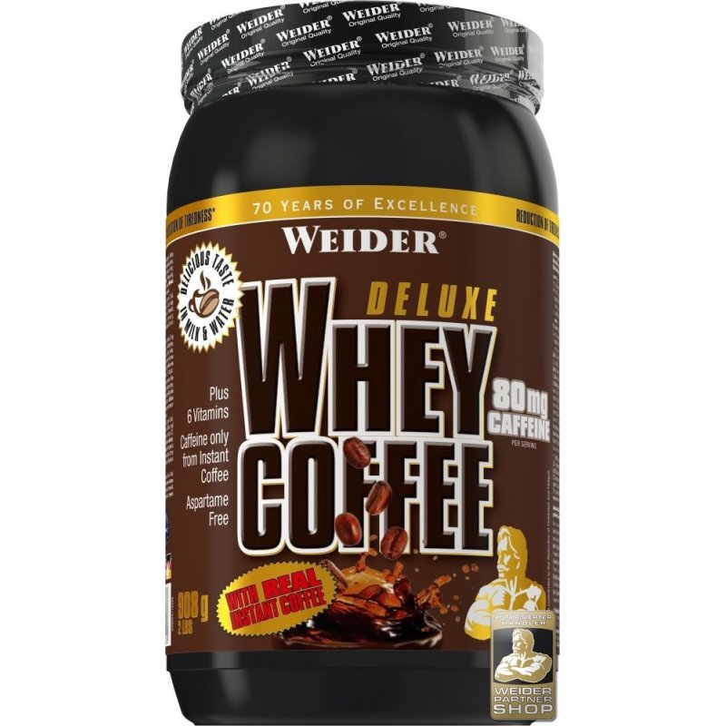 Weider Deluxe Whey Coffee, 908g