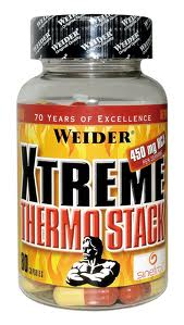 Weider Xtreme Thermo Stack, 80 kapslí