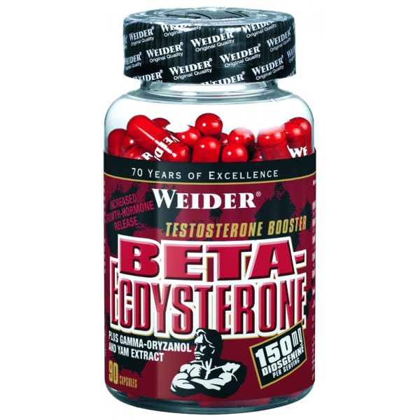 Weider Beta-Ecdysterone, 150 kapslí