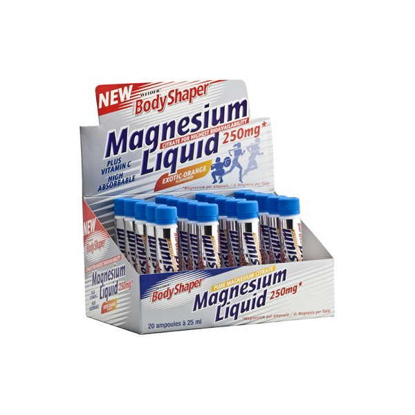 Weider Magnesium Liquid, 1x25ml