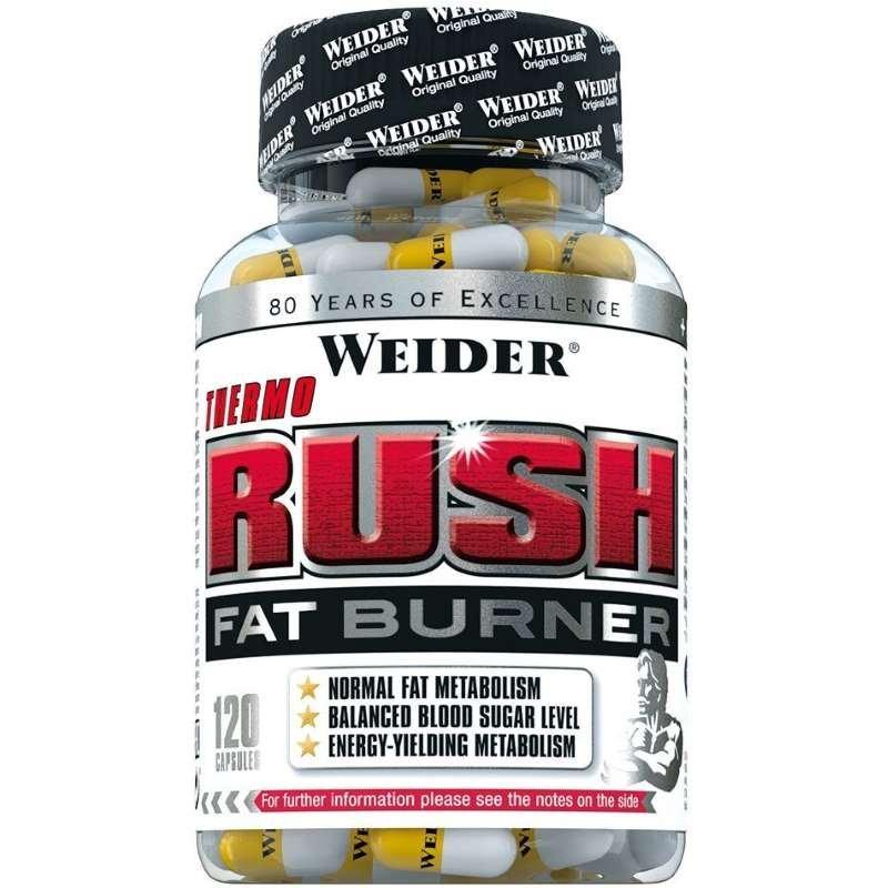 Weider Thermo Rush Fat Burner, 120 kapslí