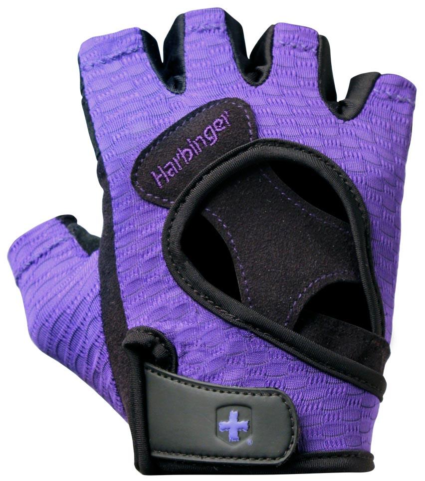 Harbinger Fitness rukavice 139 fialové L