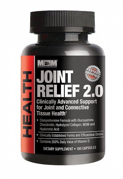 Max Muscle Joint Relief 2.0, 180 kapslí