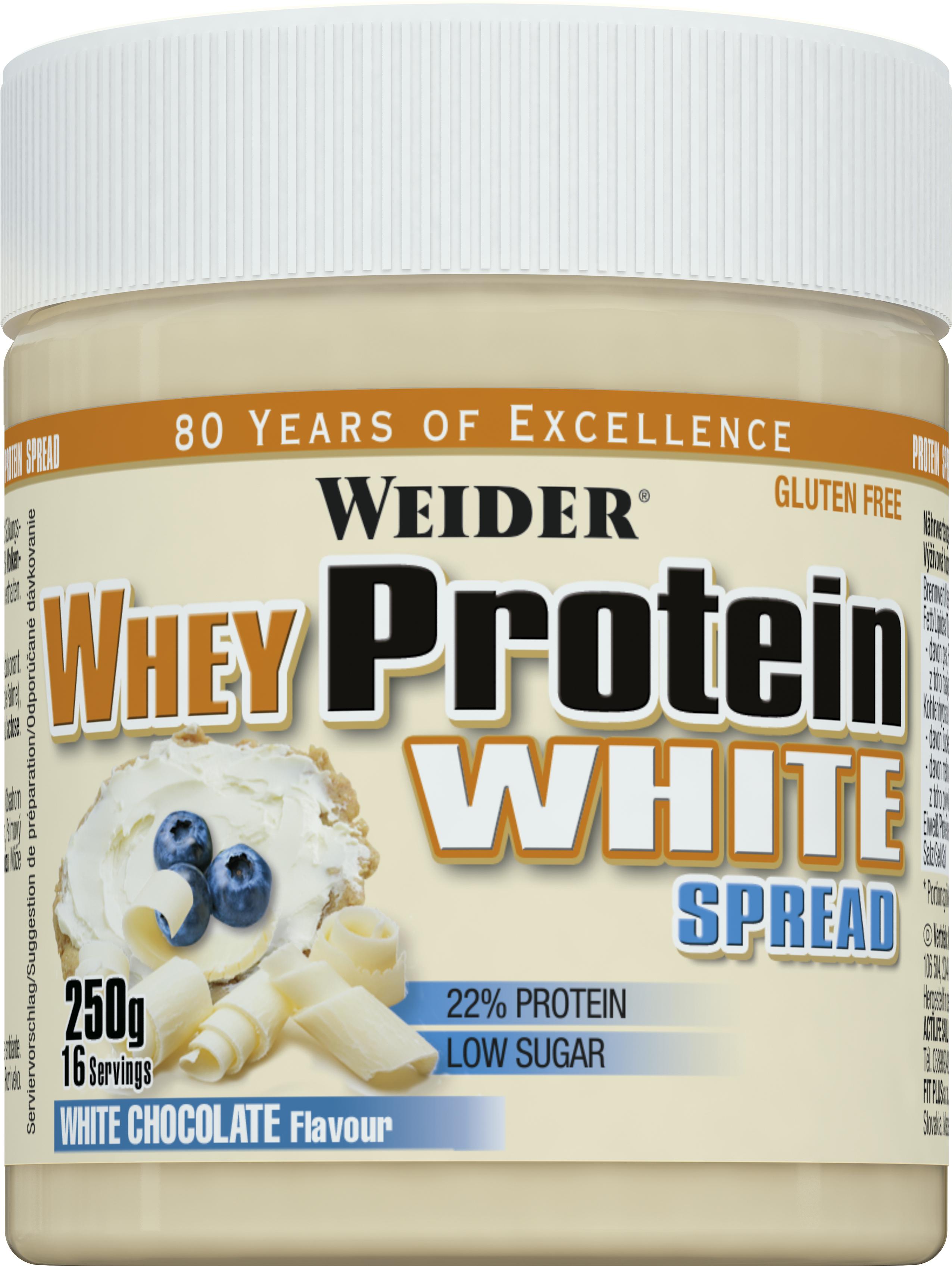 Weider Whey protein white spread, 250g
