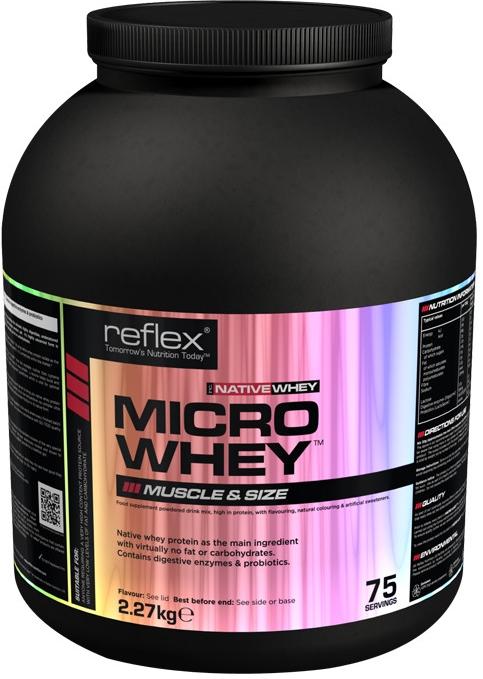Reflex Nutrition Micro Whey Native, 2,27 kg