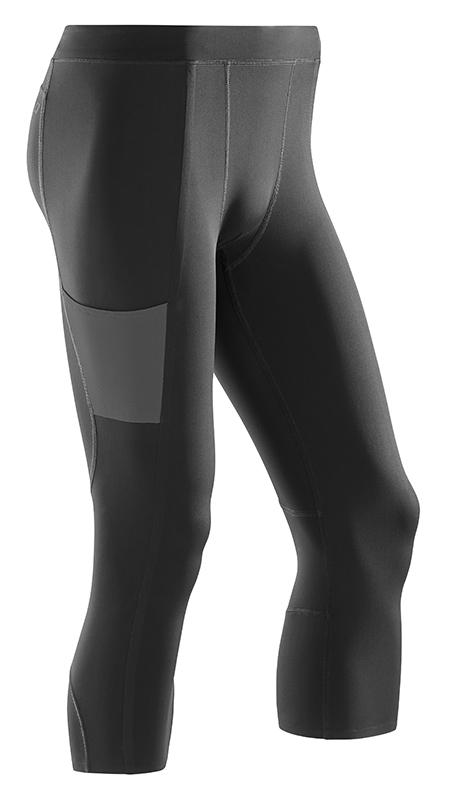 CEP 3/4 sportovní kalhoty performance pánské černá VI