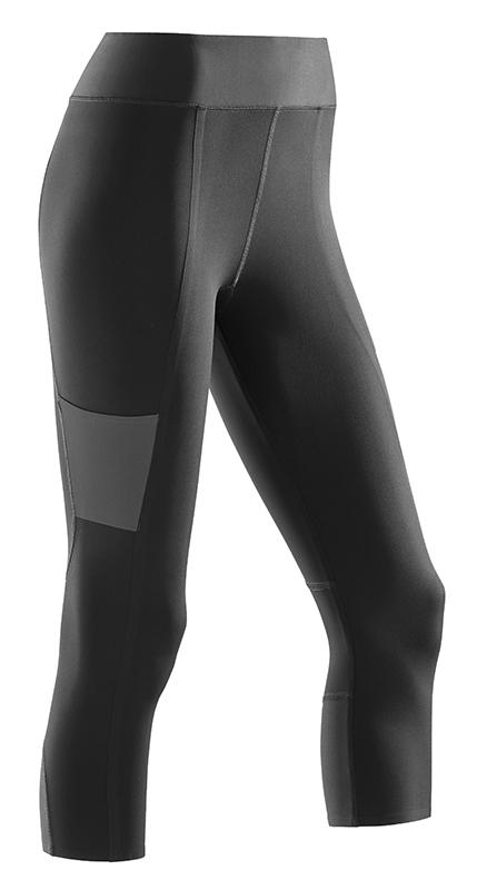 CEP 3/4 sportovní kalhoty performance dámské černá V