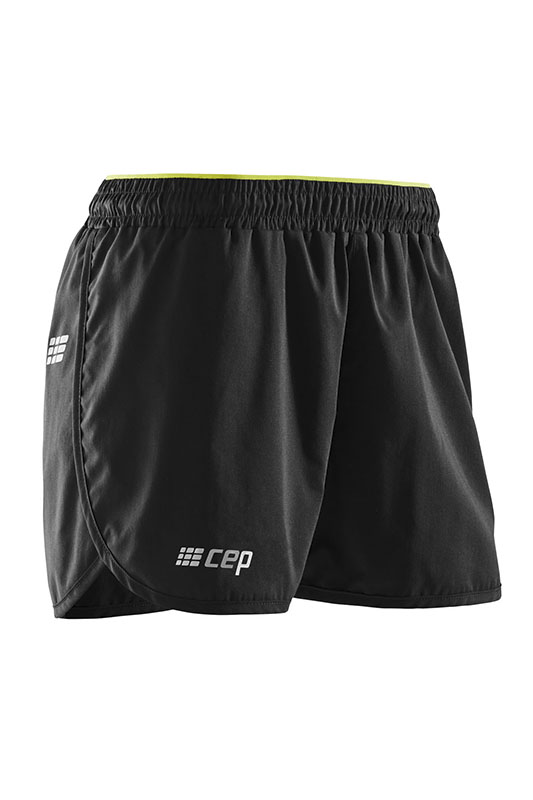 CEP Volné sportovní šortky dámské černá II adb2f10405