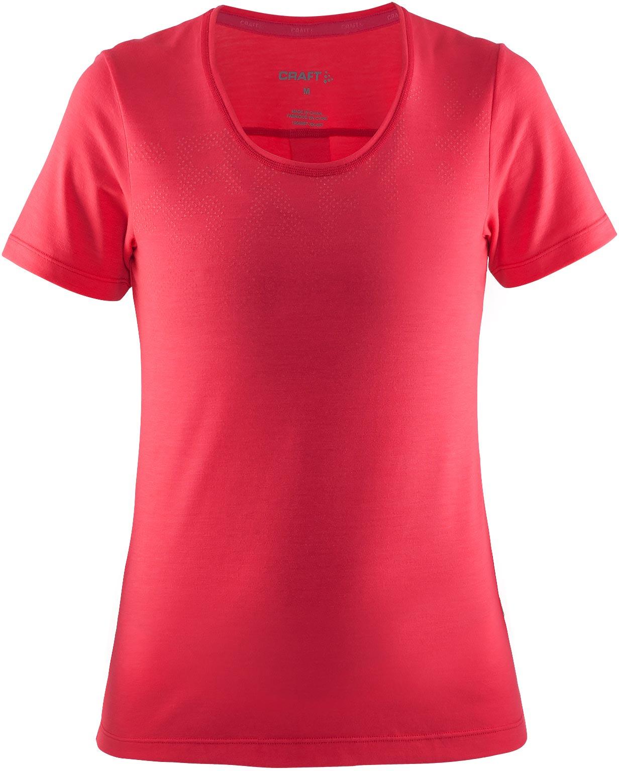 Craft W Tričko Habit ružová M