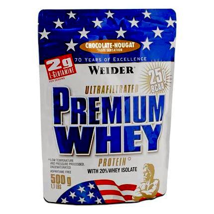 Weider Premium Whey, 500 g