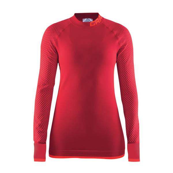 Craft W Tričko Warm Intensity červená XXL