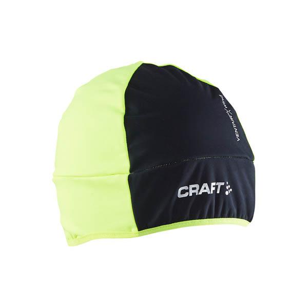 Craft Čepice Wrap žlutá S/M
