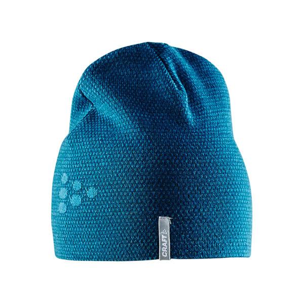 Craft Čiapky Knit Star modrá L/XL