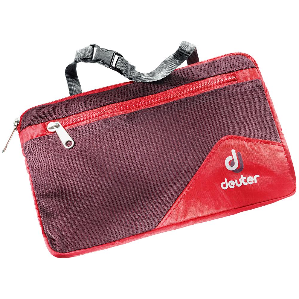 Deuter Wash Bag Lite II (3900116) fire-aubergine