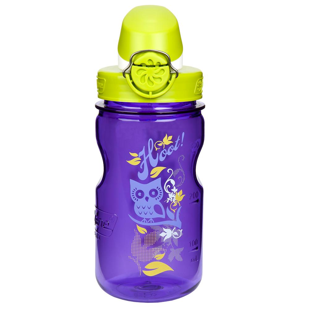 Nalgene Clear Kids OTF Purple Hoot