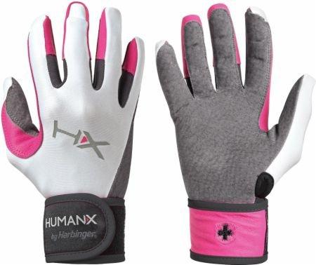 Harbinger dámské rukavice na crossfit s omotávkou růžové L