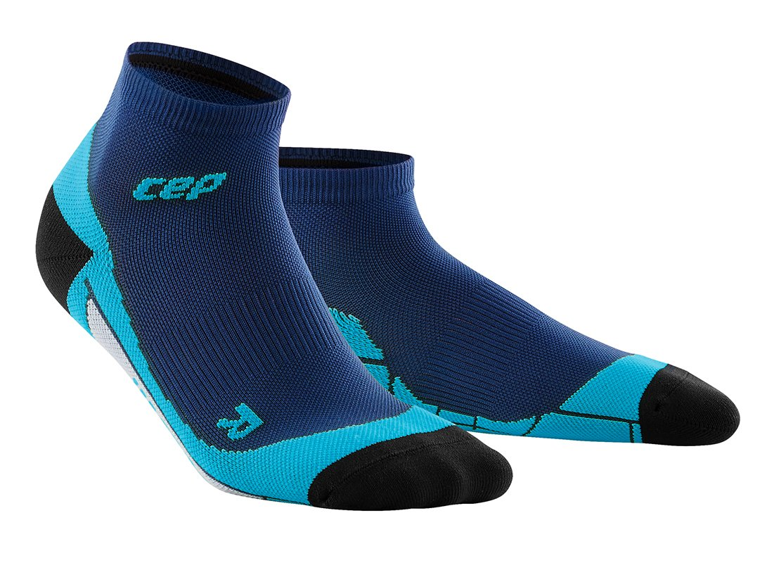 CEP Kotníkové ponožky dámské II oceánová modř / havajská modř IV