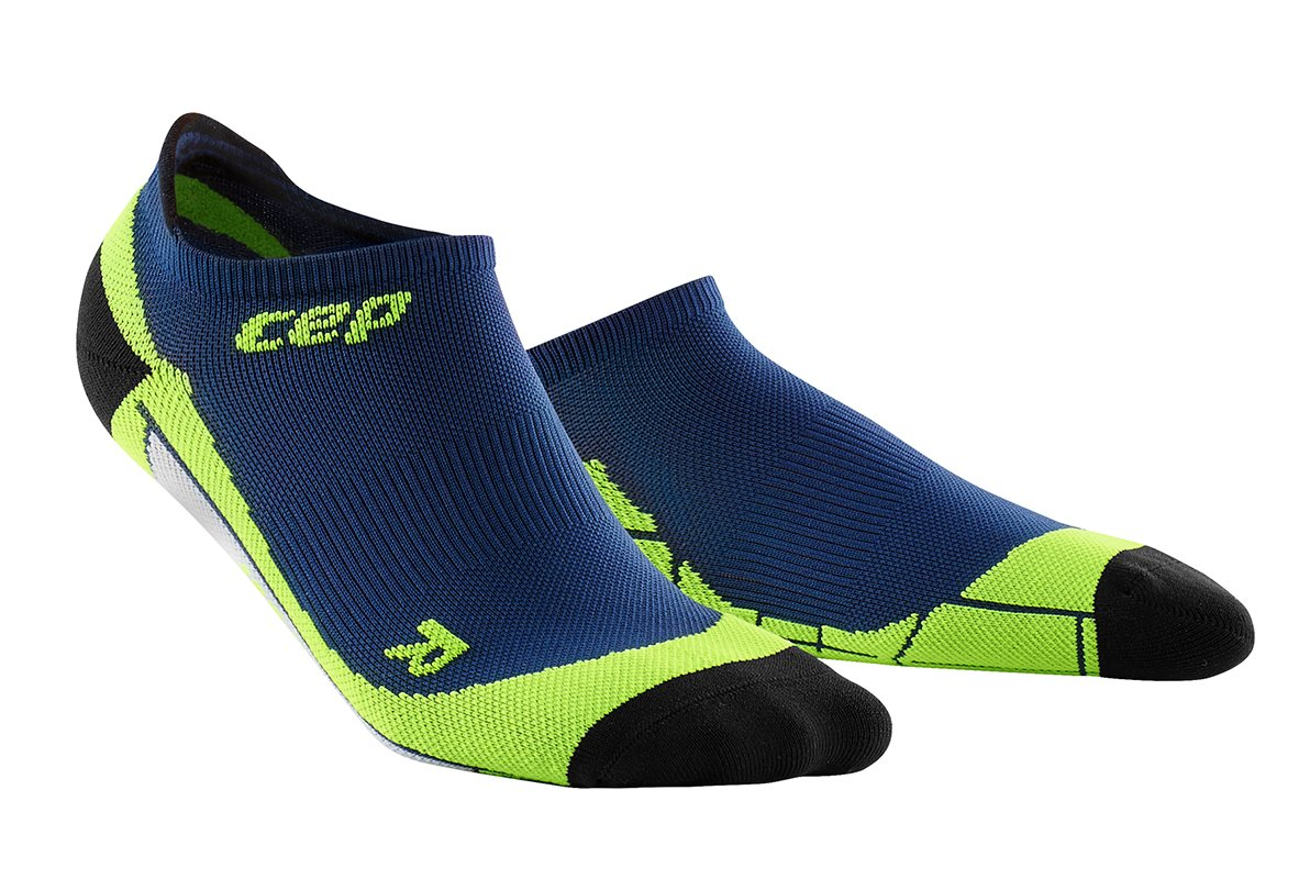 5ed87059b03 CEP Nízké ponožky pánské III oceánová modř   zelená III