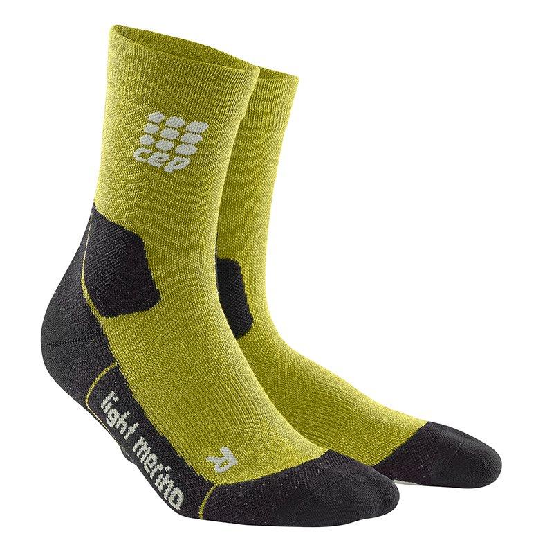 CEP Outdoorové ponožky ULTRALIGHT MERINO pánske III fresh grass III