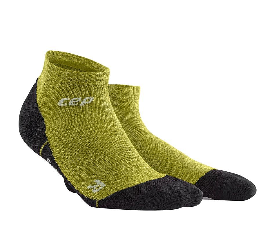 CEP Outdoorové členkové ponožky ULTRALIGHT MERINO pánske III fresh grass III