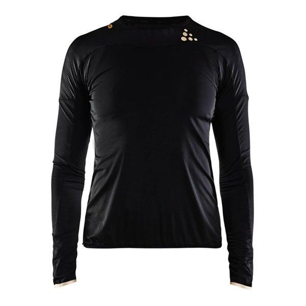 Craft W Tričko Shade LS čierna M