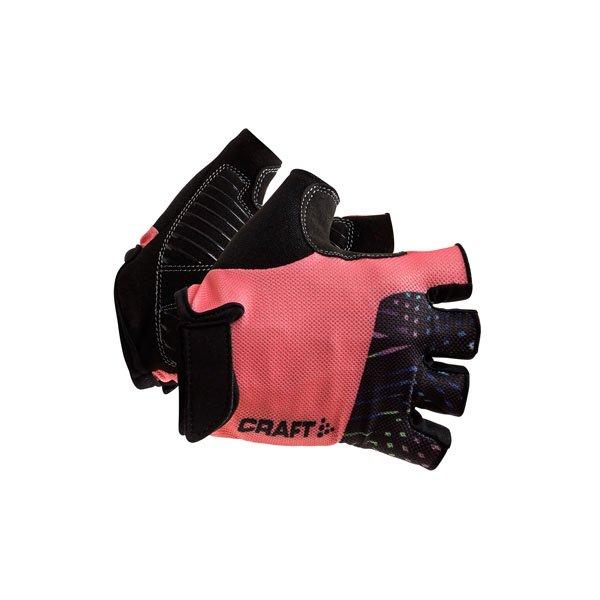 07836cf4a74 Craft cyklisticke rukavice go xs cerna levně