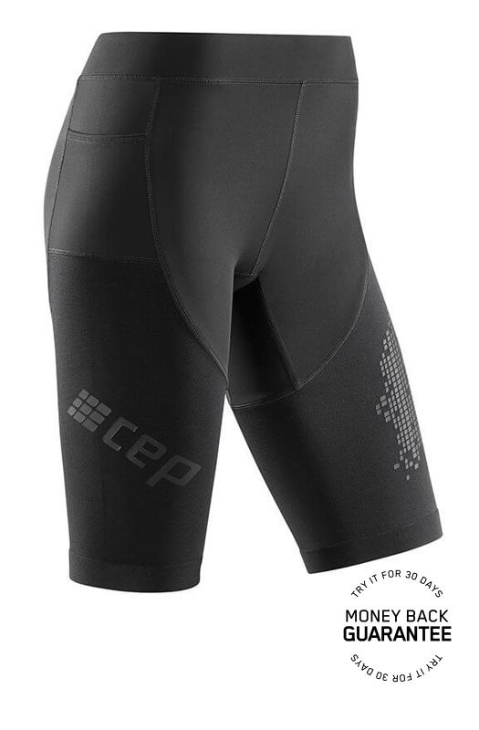 CEP Bežecké šortky 3.0 dámske čierna V