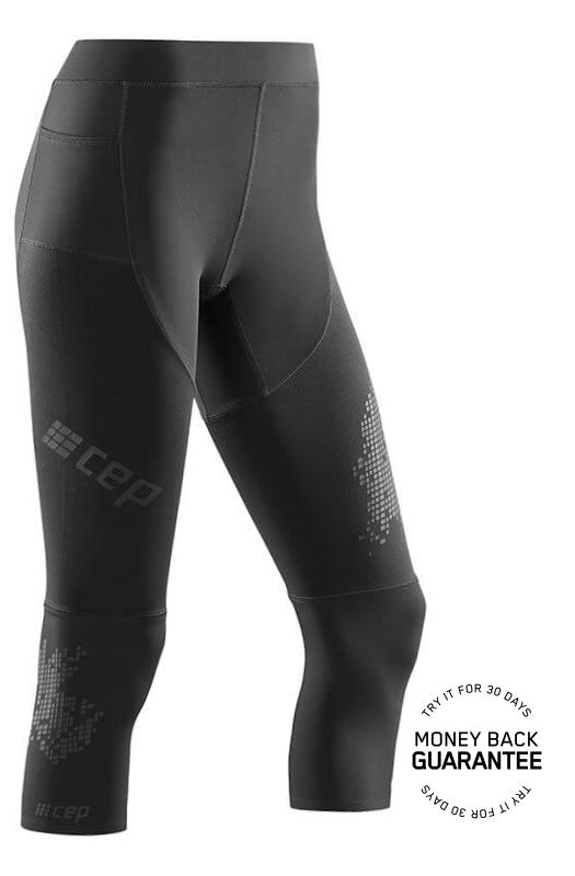 CEP 3/4 běžecké kalhoty 3.0 dámské černá V