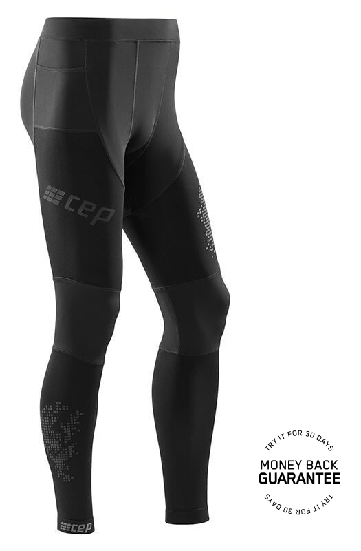 CEP Bežecké nohavice 3.0 pánske čierna V