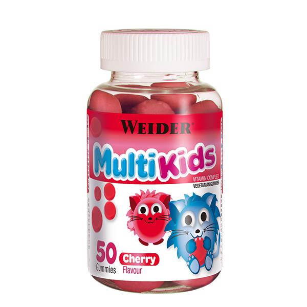Weider Multi Kids třešeň, 50 bonbónů
