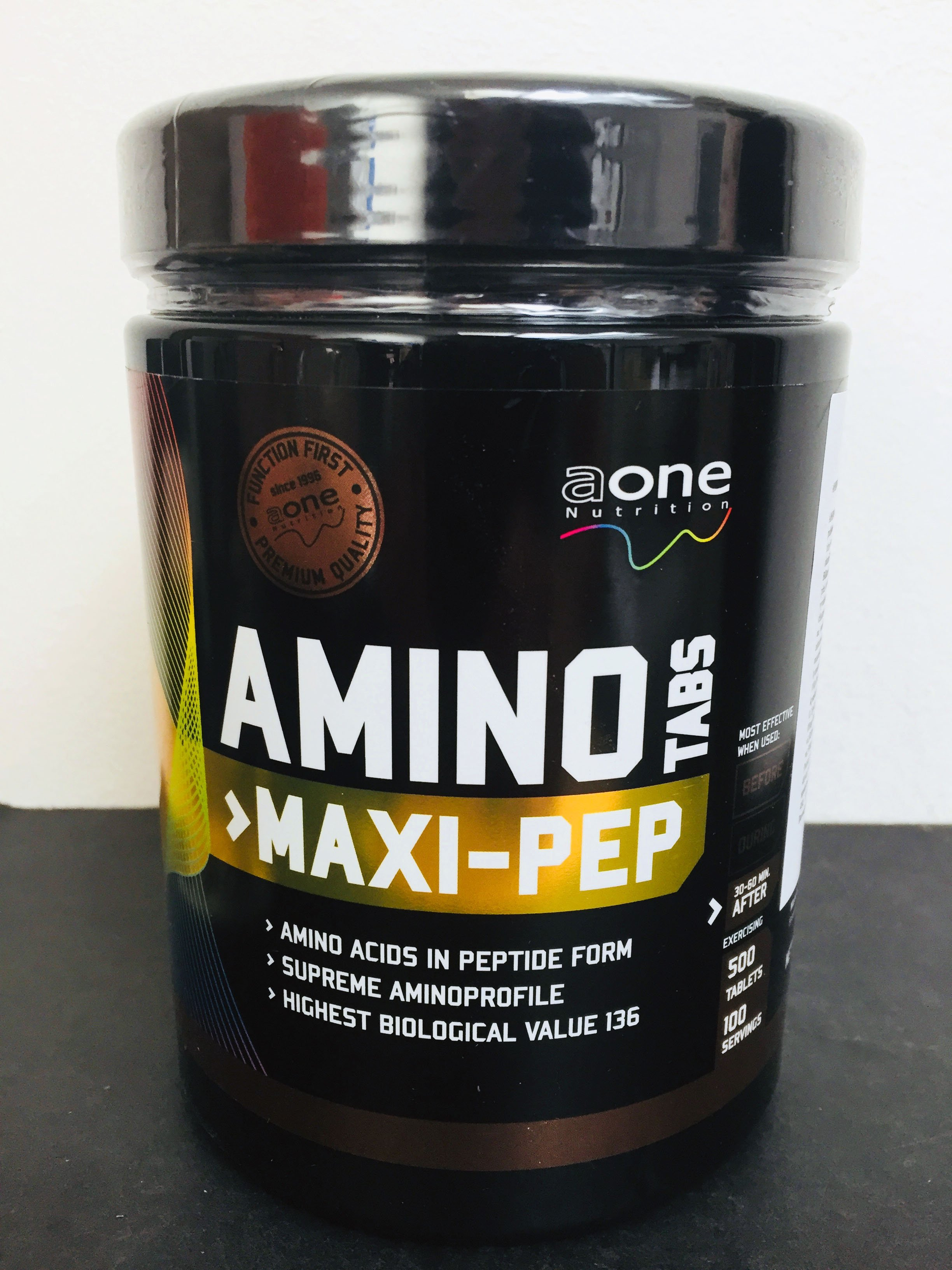 AONE Amino Tabs MAXI-PEP, 500 tablet