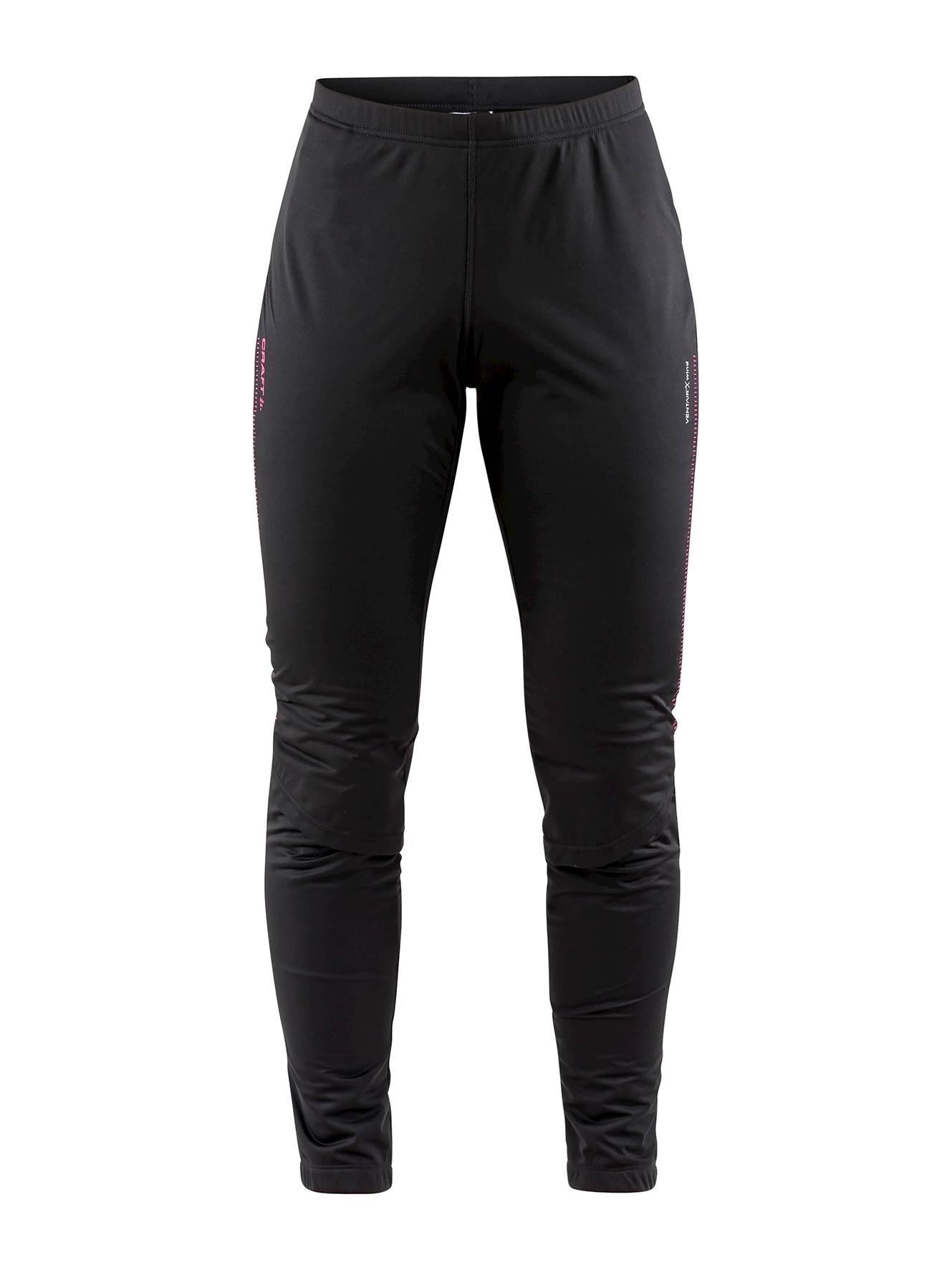 Craft W Kalhoty Storm 2.0 černá s růžovou S