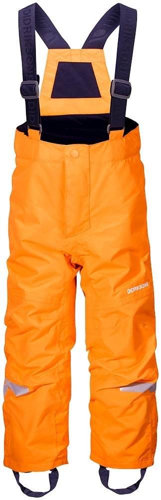 Didriksons Nohavice Idre detské oranžová 80