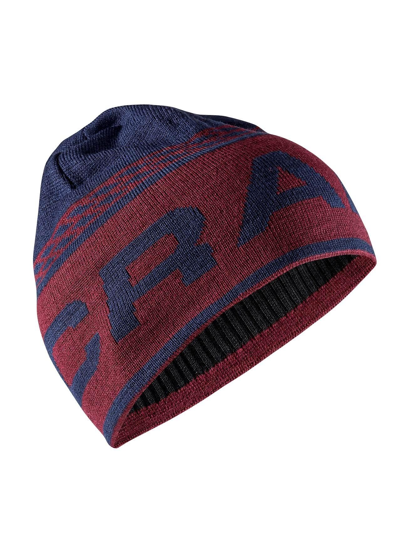 Craft Čiapky Logo Knit tmavo modrá