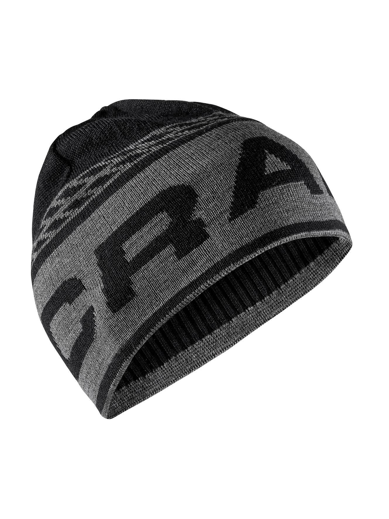 8692fb7c7e4 Adidas cepice cepice knit logo cerna