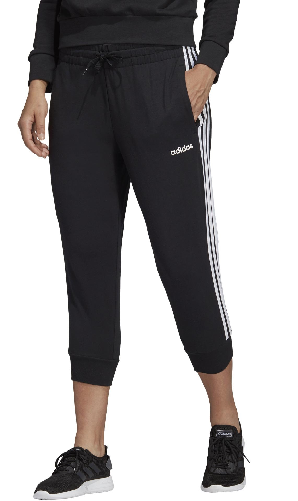 adidas Essentials 3S 3/4 Pant Single Jersey M
